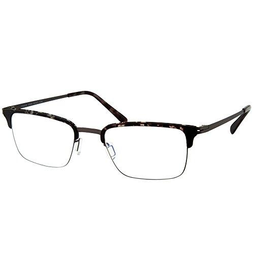 Modo 4062 GRYTT Grey Tortoise Titanium Rectangular Eyeglasses 50mm