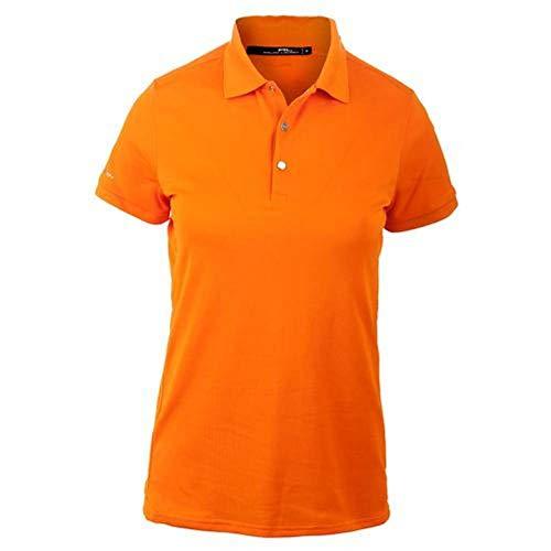 (Polo Ralph Lauren Women`s Tech Pique Polo (X-Small Solar Orange))