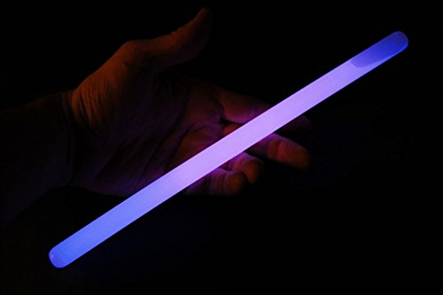 "Glow Sticks Bulk Wholesale, 10 12"" 15mm Dia. Purple Industrial Grade Jumbo Light Sticks, Bright Color, Glow 14 Hrs, Safety Glow Stick 3yrs Shelf Life, Ideal for Camping & Emergency, - Distributors Wholesale Sunglasses"