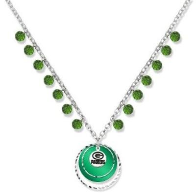 NFL Green Bay Packers LogoArt Game Day Necklace