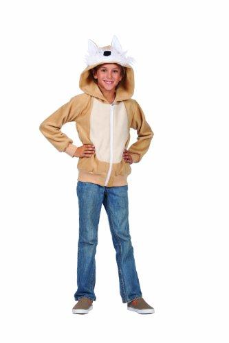 RG Costumes Vixie The Fox Hoodie Costume, Tan, Large ()