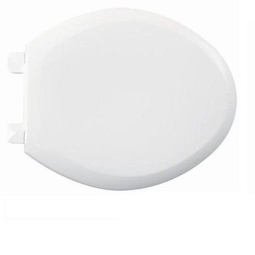 American Standard 5321.110.020 EverClean Elongated Toilet Seat with Slow Close Snap-Off Hinges, White
