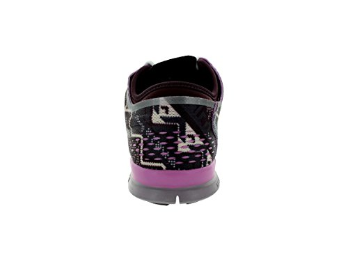 Nike Womens Wmn Free 5.0 Tr Fit 4 Prt, Profondo Bordeaux / Avorio / Lt Volt Minerale / Lt Magenta Dp Burgundy / Ivry / Light Volt O / Lt Mg