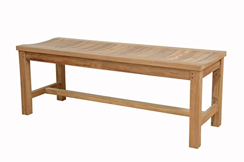 Anderson Teak Madison Backless Bench Without Cushion, 59