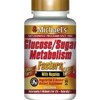 Michaels Glucose (Glucose Sugar Metabolism Factors Michael's Naturopathic 90)