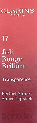 Clarins Joli Rouge Brillant – Perfect Shine Sheer Lipstick 3.5g 17 – Watermelon