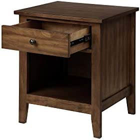 Knocbel Night Stand Solid Wood Bedside Nightstand