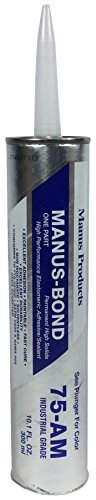 Manus Products 75AM Sealant 10.1 oz. Cartridge, White
