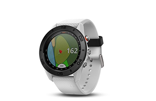 Garmin Approach S60, Premium GPS Golf Watch with Touchscreen Display and Full Color CourseView Mapping, White Renewed