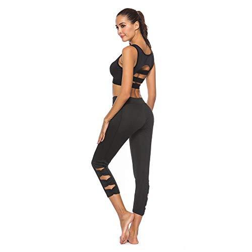 da Vents Leggings Sport donna Grigio Fitness 4 da donna 3 Pantaloni Yoga Mesh corti PRx1qzBw5