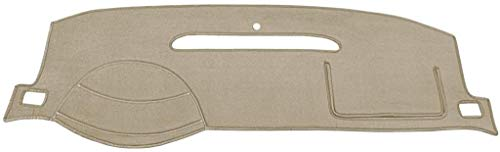 Seat Covers Unlimited Dash Cover Mat Pad - for Nissan 280ZX 1979-1983 (Custom Velour Taupe)