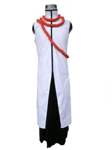 [Mtxc Men's Bleach Cosplay Costume Tousen Kaname Arranca 2nd Size X-Large White] (Kaname Tousen Costume)