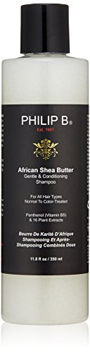 PHILIP B Gentle and Conditioning Shampoo, African Shea Butter, 11.8 fl. (Philip B African Shea Butter)