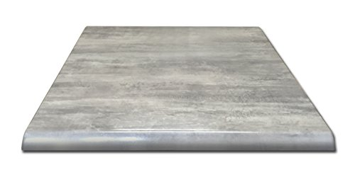 "Holland Bar Stool Co. OD36SGryStn 36"" x 36"" Greystone, Season EnduroTop Indoor/Outdoor Table Top"