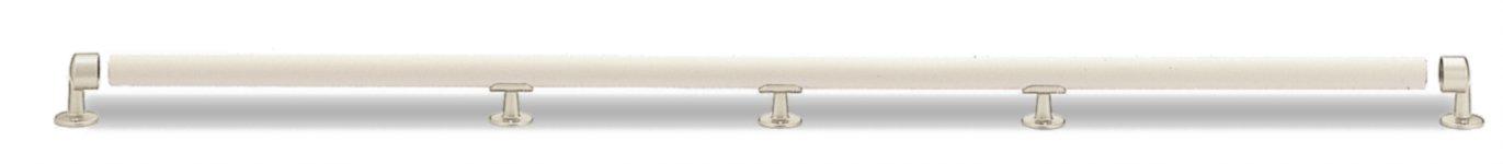 シロクマ まがりん棒[2箇所曲り] アイボリ/耐水アイボリ BR-301 (手すり) B009VDO972  アイボリ/耐水アイボリ