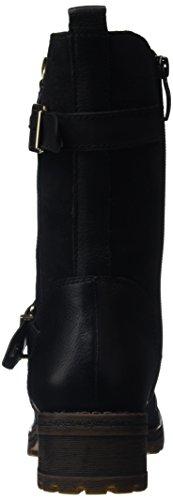 Tamaris 1-1-26000-37, Botas de Media Caña Mujer Negro (Black 001)