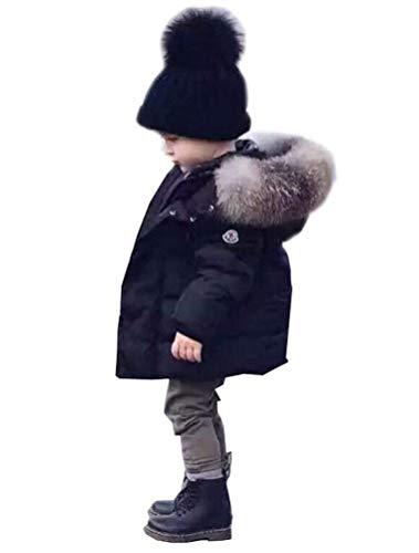 Odziezet Baby Winter Hooded Jacket Jongen Meisje Dikken Down Puffer Warme Jas Bovenkleding Kleding 0-6 Jaar