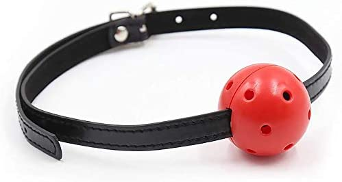 Yoga Grommet pin Buckle Black Solid Soft Ball and Hollow Hard Ball Couple Toy Integrated Roleing Props mouthball