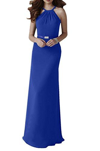 Missdressy - Vestido - cuello hálter - para mujer Azul Real