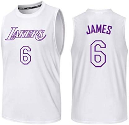 #6 、バスケットボールゲーム制服、速乾性バスケットボールトレーニングユニフォーム、バスケットボール、 S-3XL