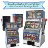 Trademark Poker Play The Game Lucky Slot Machine Bank 2015
