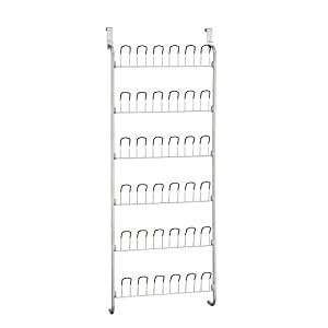 Organize It All Over-The-Door 18 Pair Hanging Wire Shoe Rack