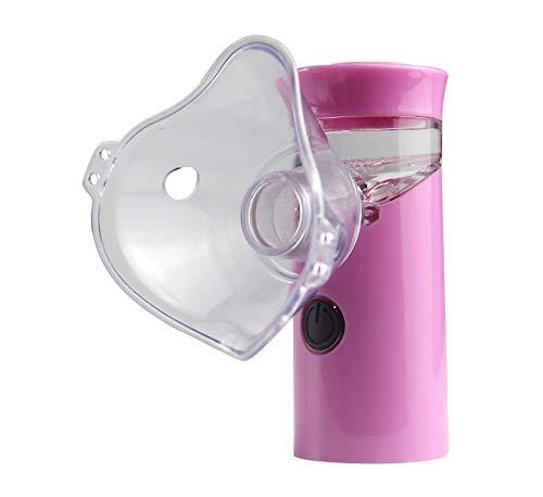 Portable & Handheld Mesh Inhaler for Kids and Adult,Micro USB Rechargeable Mesh Inhaler Humidifier,Pocket Mini Handheld Ultrasonic inhaler