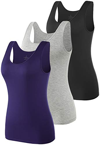 Vislivin Womens Supersoft Vest Tops Stretch Casual Tank Tops