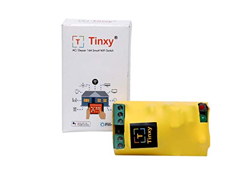 T Tinxy Device Smart Switch 16A for AC/Geyzer Compatible with Alexa and Google Home