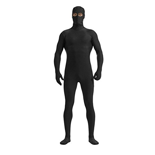 - 31 2BJ5l7QKAL - Ensnovo Mens Spandex Zentai Bodysuit with Eyes Open Unitard