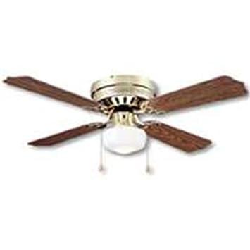 BOSTON HARBOR CF-78125 Hugger Ceiling Fan 1 Light, 42-Inch ...