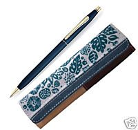 at-cross-century-classic-satin-blue-23kt-gold-pen-with-bahia-pen-case