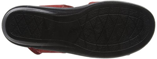red Bride Sandales Femme Rouge Black Reptile Madeira Padders Arriere 44 Patent 6xnTwz