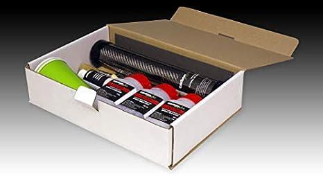Kit Forrado Fibra de Carbono Avanzado CarboPro twill2/2