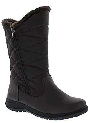 Khombu Carly Womens Fleece Lined Snow Boots (Available in Medium and Wide Width)