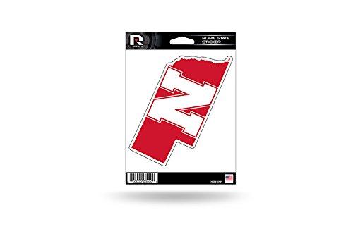 Rico Industries NCAA Nebraska Cornhuskers Home State Sticker