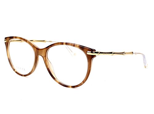 gucci 3780. gucci 3780 eyeglasses 0hqz brown horn 53-16-140: amazon.co.uk: clothing gucci c