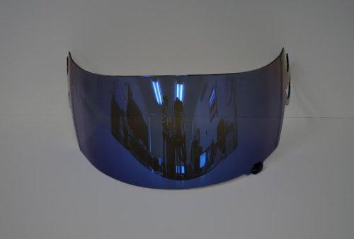 NEW Blue Mirror Iridium Helmet Visor Shield for Suomy Spec 1r Extreme Apex Excel (Aftermarket Shield)