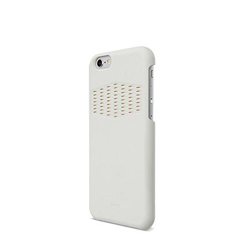 Pong, Sleek Estuche para iPhone 6, con Antena Incorporada, color Blanco