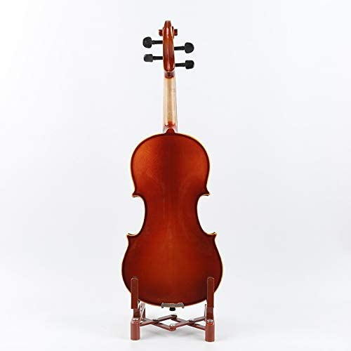 Color : Brown ACHKL Solid wood wear white side playing violin beginner violin leveling ACHKL