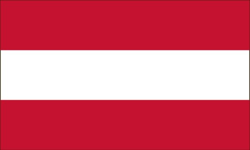 4'x6' 4 x 6 FT Austria Austrian Flag Sewn Stripes SolarMax Nylon US Made