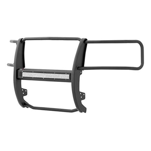 (ARIES P4068 Pro Series Black Steel Grill Guard Select Chevrolet Silverado 1500)