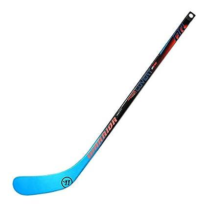 Amazon Com Warrior Qre Mini Composite Hockey Stick Black Blue