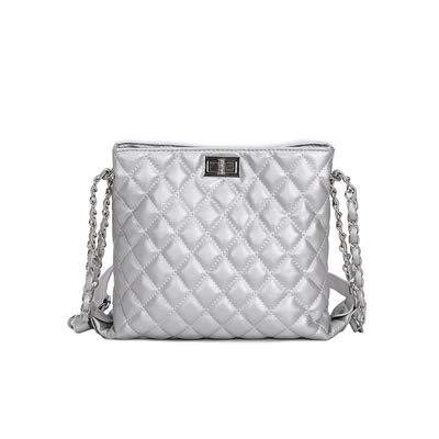 985a61cd15 Image Unavailable. Image not available for. Color  Travel Bag 2018 Luxury  Handbags Women Bags Designer Lingge Chain Shoulder Messenger ...