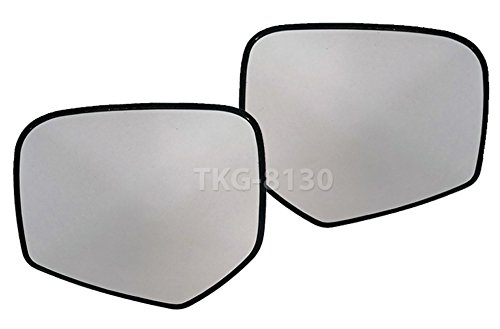 1 Pair Side Mirror Glass Lens Len Mitsubishi Triton L200 UTE Pickup 2005-2014