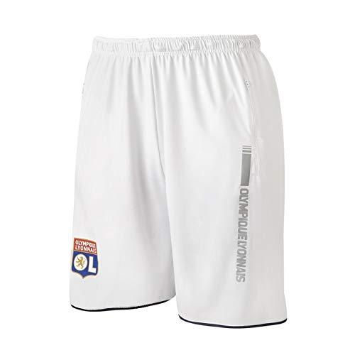 Olympique Lyonnais Short Training reflekt Blanc Adulte