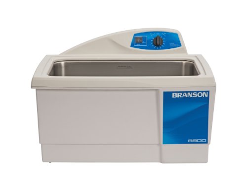 Branson CPX-952-817R Series MH Mechanical Cleaning Bath with Mechanical Timer and Heater, 5.5 Gallons Capacity, 120V