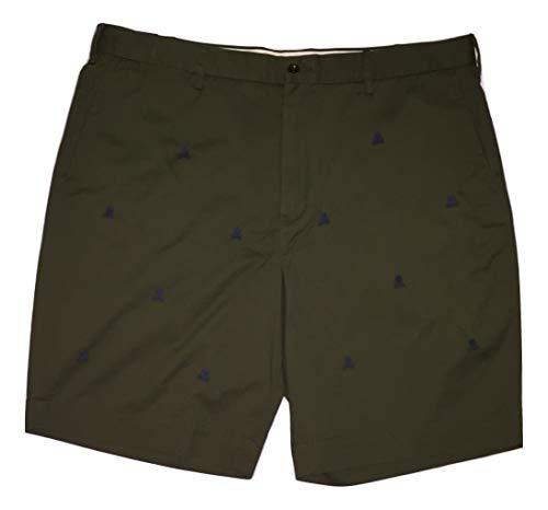 Polo Ralph Lauren Chino - Polo Ralph Lauren Flat Front Chino Short (Dark Olive Green, 34)
