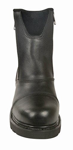 Motorcycle Classic Milwaukee Women's 11 Leather Size Boots Black qApc16xU4w