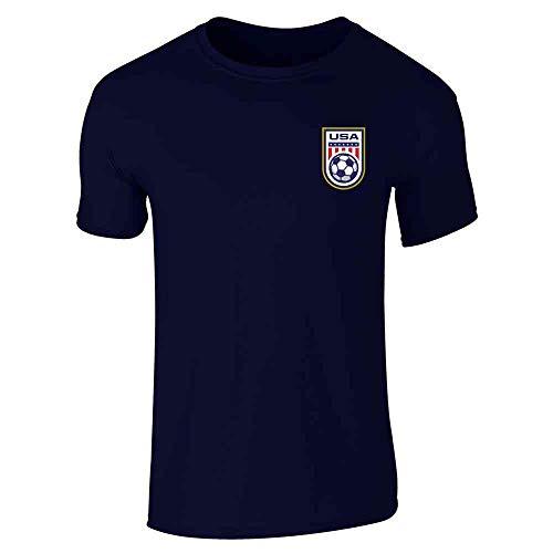 USA Soccer Retro National Team Jersey Navy Blue M Short Sleeve T-Shirt